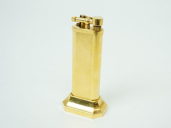 ダンヒル(Dunhill) ライター ゴールドプレート 卓上