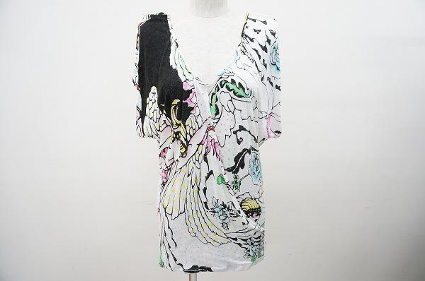 ツモリチサト カットソー 2 白 Tシャツ レディース