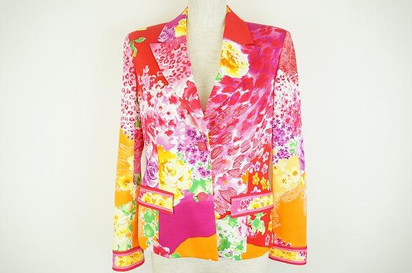 華やかなレオナールのジャケットを買取しました。洋服買取ならアクイールへ