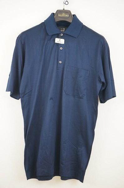 ダンヒル(Dunhill) ポロシャツ S 紺 綿 メンズ