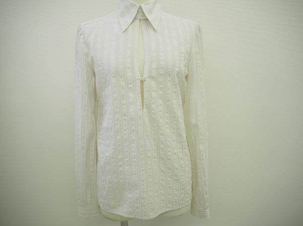 フィロソフィー 長袖シャツ 40 白系  レディース