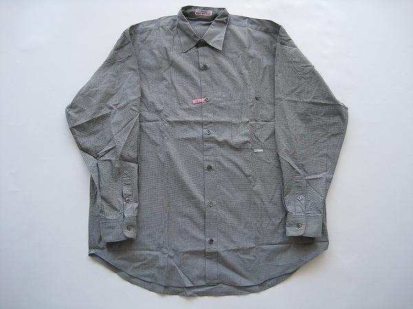 パパス(Papas) 長袖シャツ L 黒 メンズ