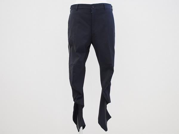 コムデギャルソン パンツ M 黒 変形 レディース