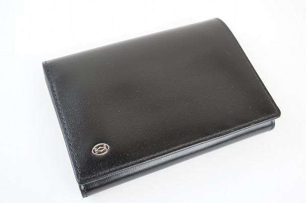 カルティエ 札入れ 財布 パシャ 黒 メンズ