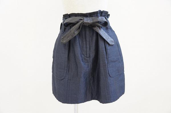 ドゥロワー スカート 36 デニム  レディース