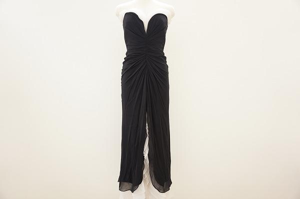 タダシ ベア ドレス XS 黒 レディース