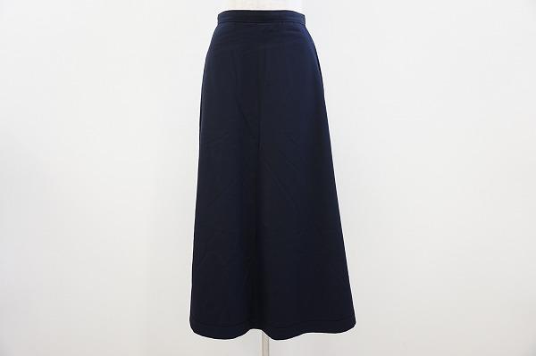 トリココムデギャルソン スカート 濃紺 レディース