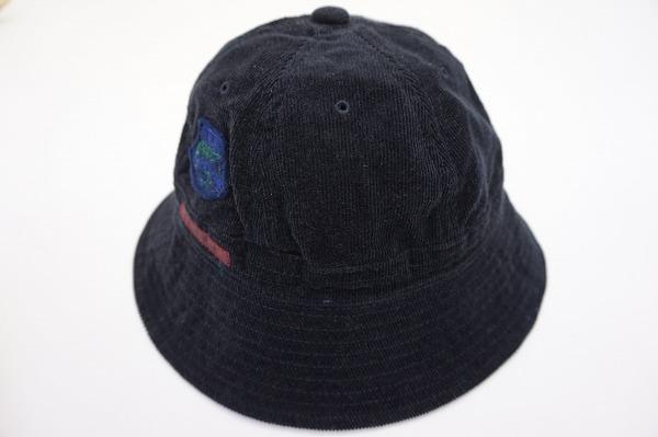 パパス 帽子 M メンズ コーデュロイ 麻混 メンズ