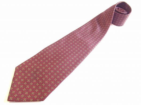 ブルックスブラザーズ ネクタイ 赤 シルク メンズ
