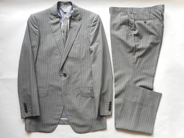 ティモシーエベレスト スーツ S2B グレー メンズ