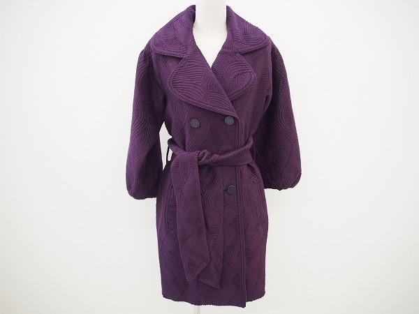 キャサリンマランドリーノ コート 4 紫 レディース