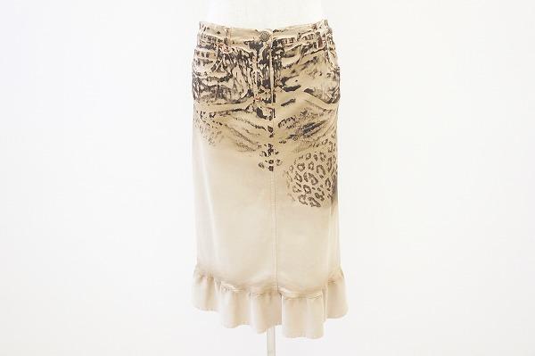 レコパン スカート 42 ベージュ レディース