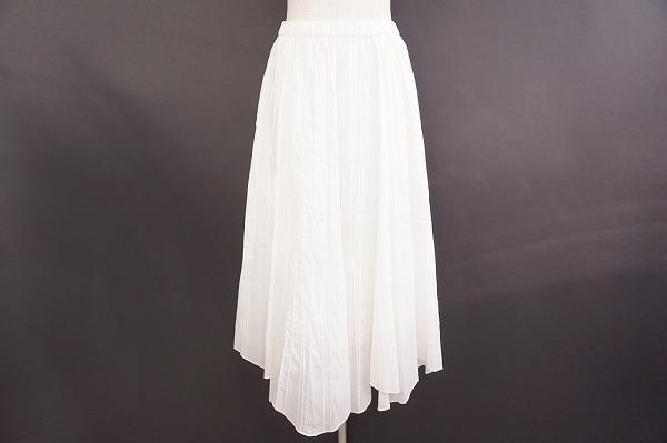 イッセイミヤケハート スカート 2 白 レディース