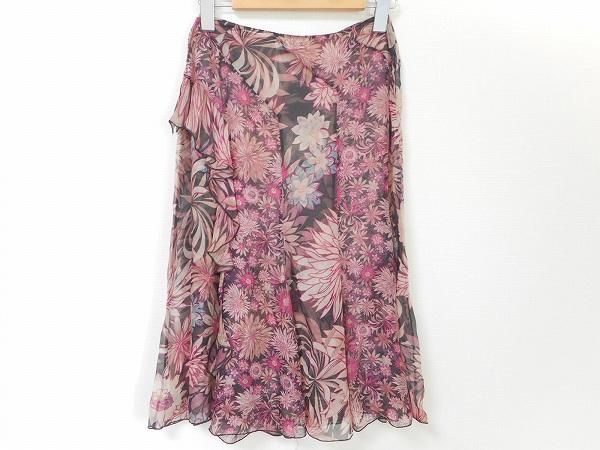 ブルマリン スカート 花柄 レディース