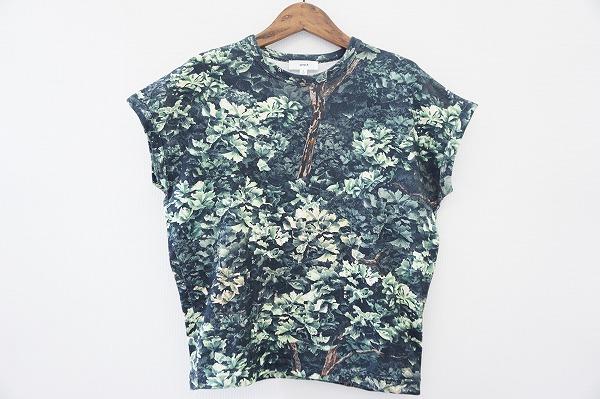 ハイク HYKE カットソー Tシャツ 1 緑 レディース