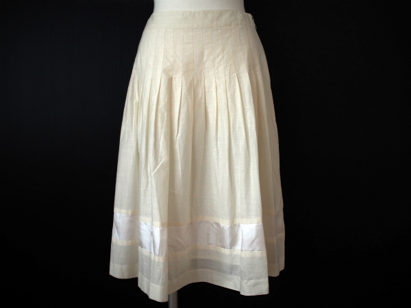 レイビームス スカート 0 白 レディース