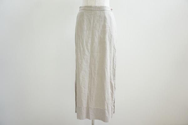 イッセイミヤケ スカート 3 麻 レディース