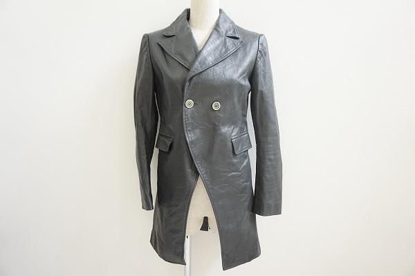 ヨウジヤマモトのレザーコートを買取しました。洋服買取はアクイールへお任せください。