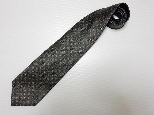 ブルガリ ネクタイ シルク イタリア製 メンズ