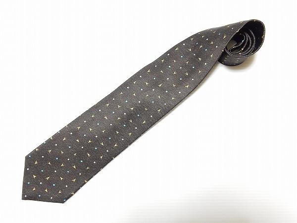 ブルガリ ネクタイ 濃茶系 メンズ