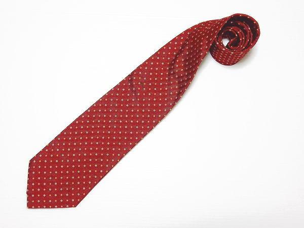 ルイジ ボレッリ ネクタイ 赤 イタリア製 メンズ