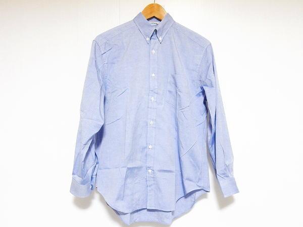 ニューヨーカー 長袖シャツ 11 青 メンズ