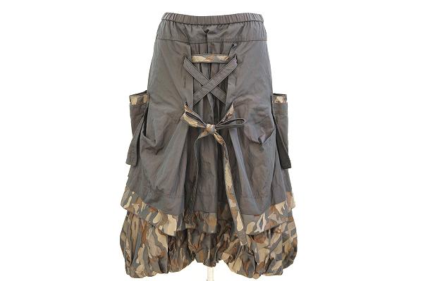 エイココンドウ スカート F カモフラ レディース