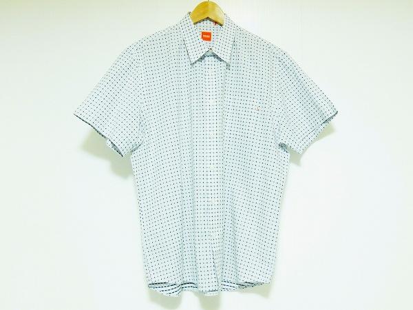 ヒューゴボス 半袖シャツ XXL 美品 メンズ
