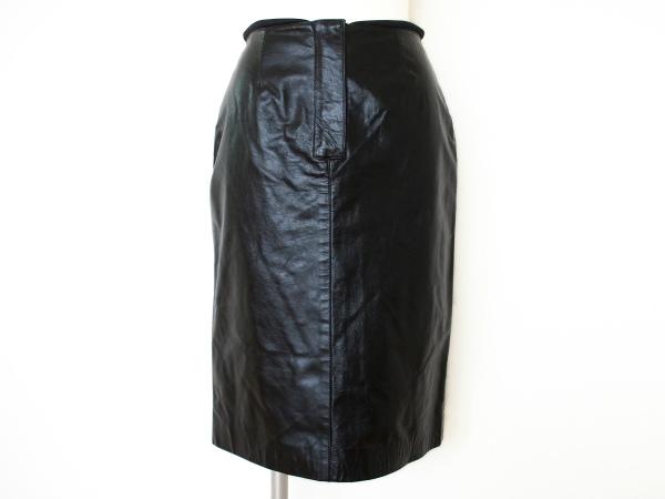 アンテプリマ スカート レザー 40 黒 レディース