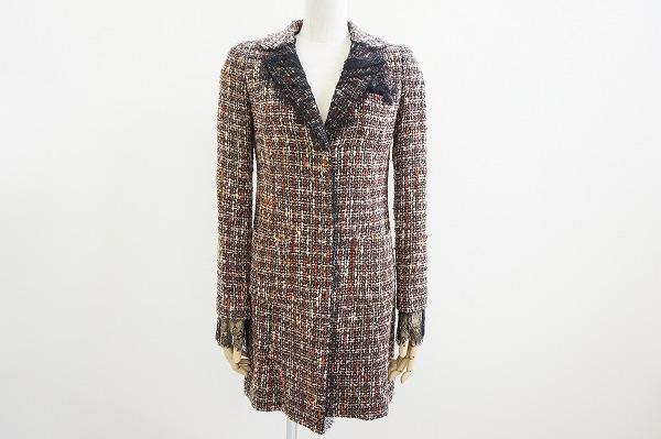 ハロッズのツイードコートを買取しました。洋服売るならアクイールにお任せ下さい。