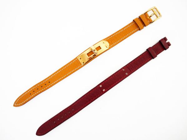 エルメス 腕時計 ケリー ベルト2本 レディース
