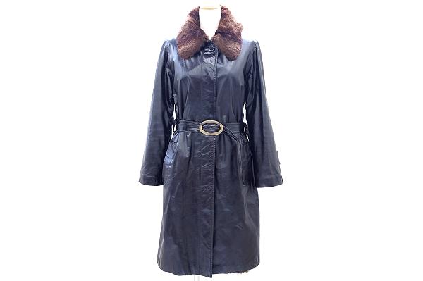 マルニ コート 42 ミンク 毛皮 レディース