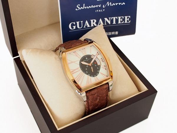 サルバトーレマーラ 腕時計 レザー 美品 メンズ