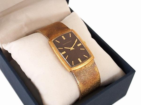 ジラールペルゴ 手巻 腕時計 18K ゴールド メンズ
