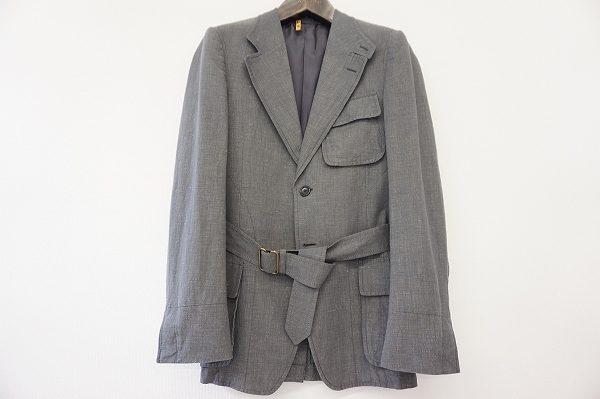 イヴサンローランの着回ししやすいメンズジャケットをお買取いたしました