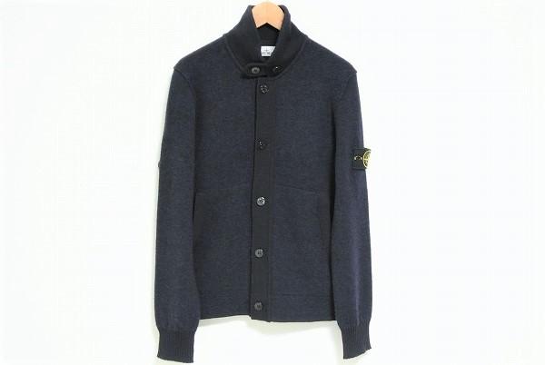 ストーンアイランド セーター L 紺 美品 メンズ [443948]