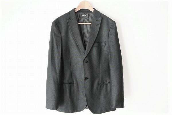 アルマーニ ジャケット 黒タグ シルク 美品 メンズ