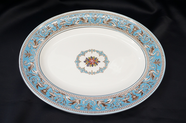 ウェッジウッド フロレンティーン 大皿 オーバル