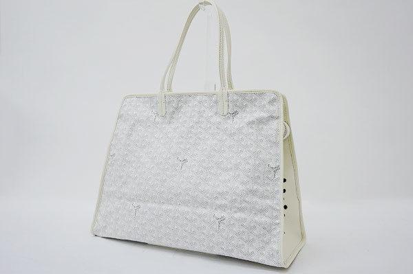 猫専用バッグ?ゴヤールのハンドバッグをお買い取りいたしました