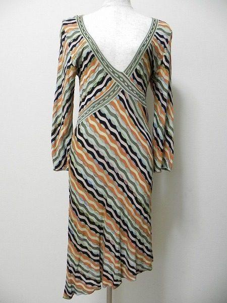 ドレスとしてのご着用もOKなミッソーニのニットワンピースをお買取いたしました