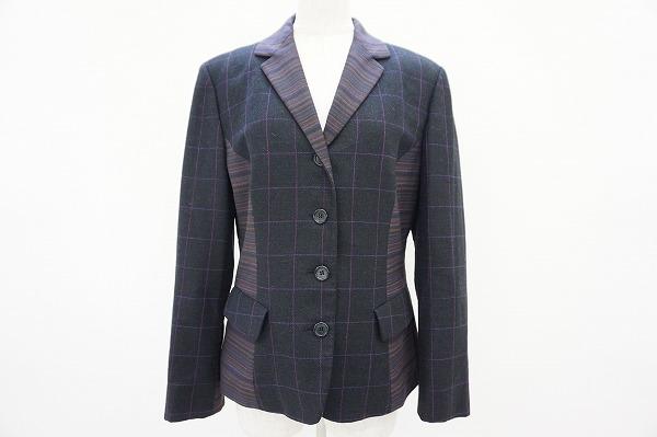 エトロ カシミヤ混ジャケットを買取しました。洋服買取ならアクイール旗の台店へ