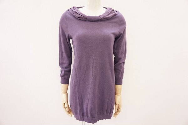ブルネロクチネリ セーター M 紫 レディース