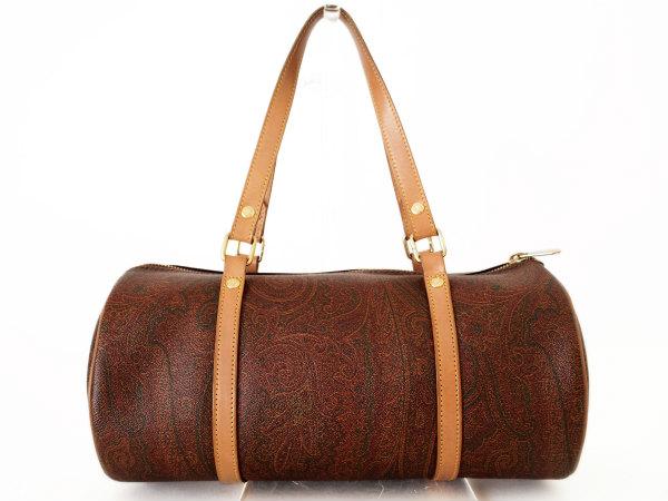 千葉県船橋市のお客様からエトロの筒型バッグを買取しました。出張買取はアクイールにお任せください。