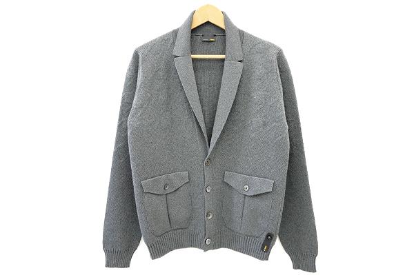 フェンディのメンズニットジャケットをお売りいただきました。フェンディのメンズ洋服買取はアクイールへ!