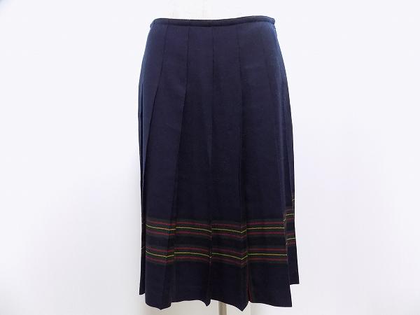 ヨークランド スカート 9 紺系 レディース