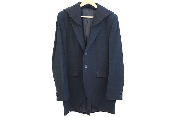 ヒューゴボス コート ジャケット 52 フード付 メンズ