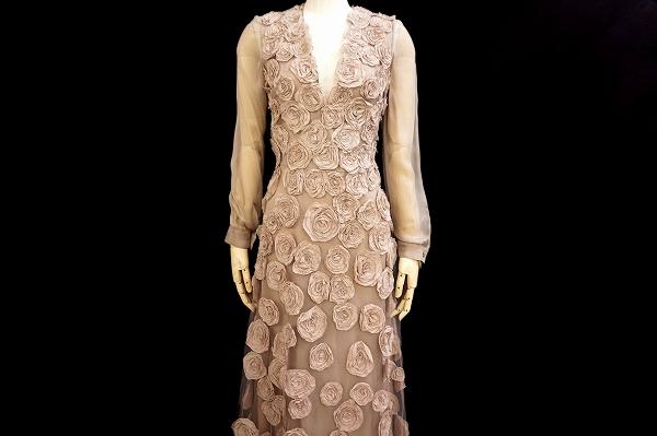 ヴァレンティノ ドレス ワンピース 8 ベージュ レディース