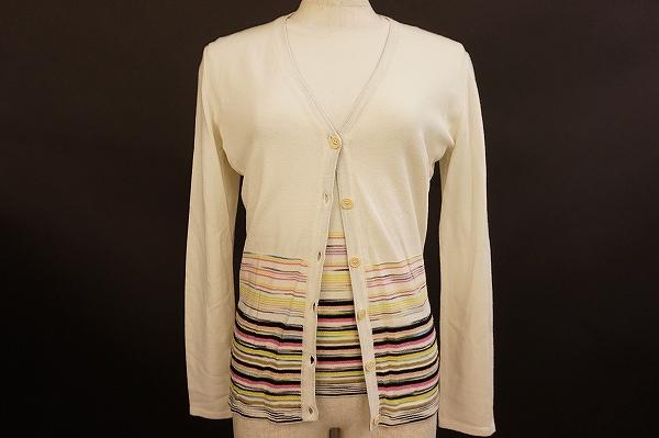買取情報!ミッソーニのアンサンブルをお売りいただきました。ブランドお洋服の買取はアクイールへ