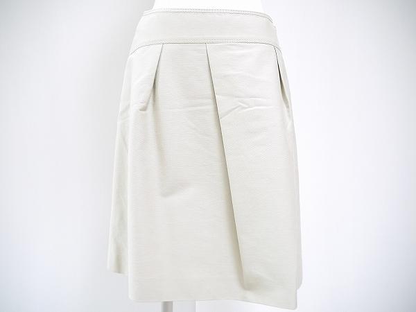 MISS J ラピーヌ スカート 40 ベージュ レディース