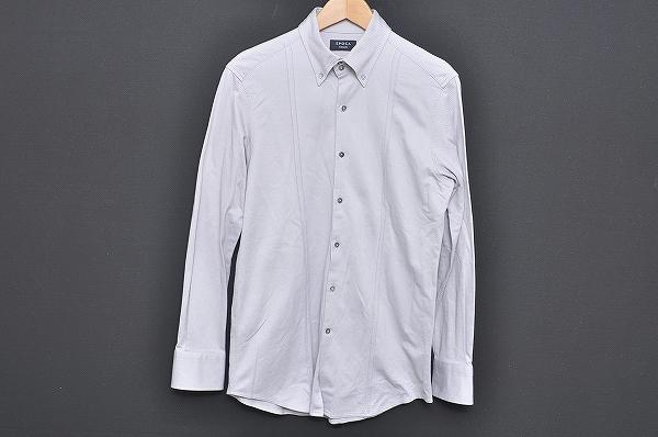 エポカ UOMO 長袖シャツ 46 グレー メンズ_2